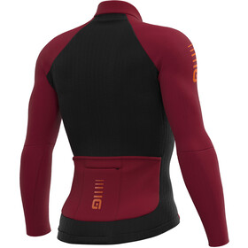 Alé Cycling Clima Protection 2.0 Warm Race Maillot À Manches Longues Homme, masai red